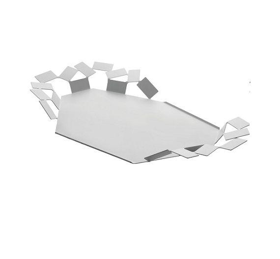 ALESSI Stanza dello Scirocco white tray MT07W