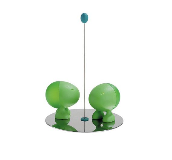 Alessi Lilliput salt and pepper ASG02
