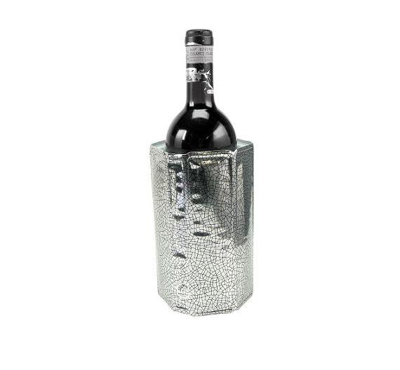 Rinfrescatore argento per bottiglie di Vacu Vin