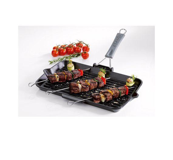 Staub bistecchiera ghisa rettangolare 34x21 cm