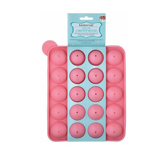 KitchenCraft stampo silicone per Cake Pop