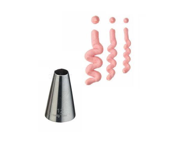 KitchenCraft bocchetta punta tonda per glassatura