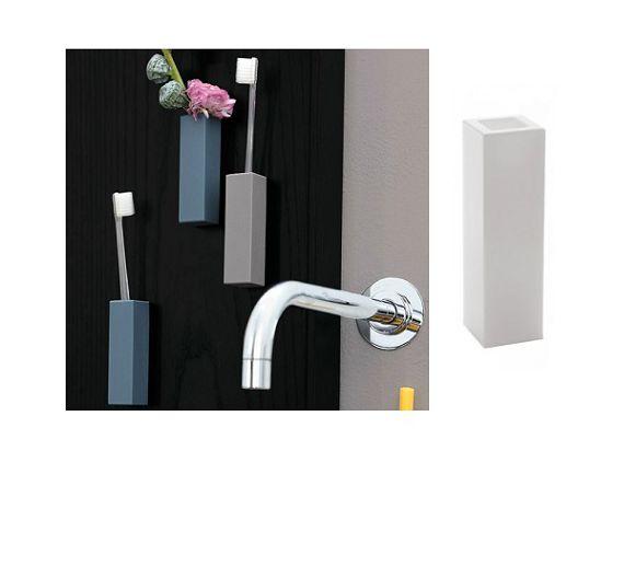 Geelli Porta spazzolino singolo a muro