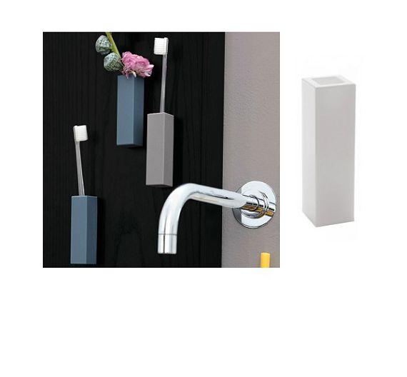 Geelli Single wall mounted toothbrush holder