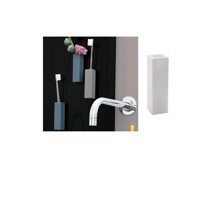 Geelli porta spazzolino singolo a muro cose da casa - Porta a muro ...