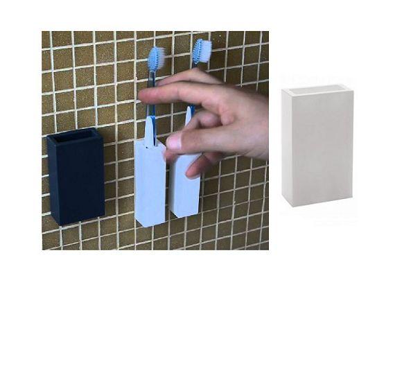 Geelli Porta spazzolino doppio a muro