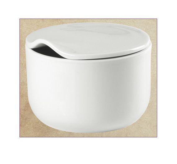 Richard Ginori sugar bowl Infinito white