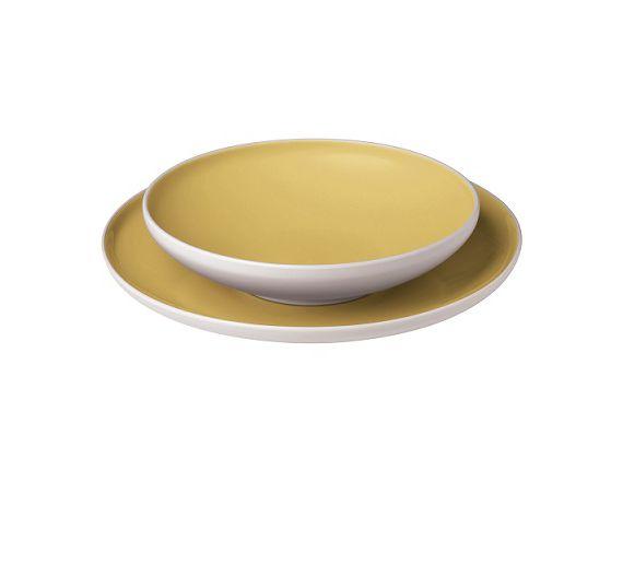 Bitossi soup plate Sorbetto cm 21