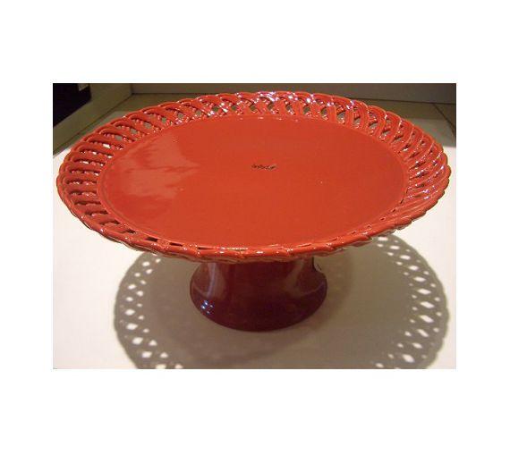 Bitossi alzata traforata in ceramica