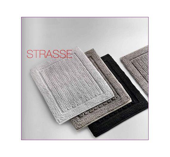 LineaBeta Strasse black chenille rug