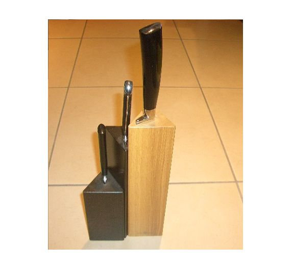 Del Ben high wengè knife block