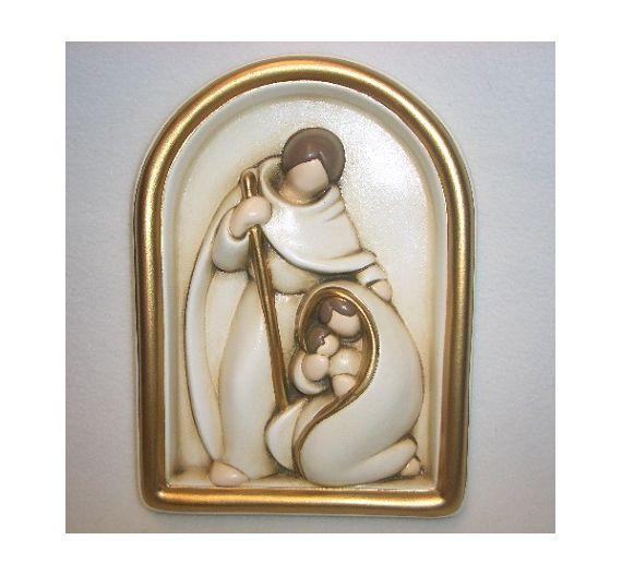 Egan Small Holy Family tile gold