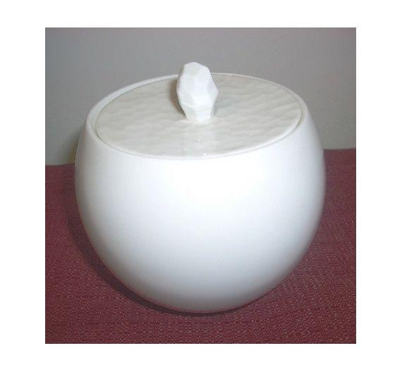Narumi Hammered zuccheriera bianca