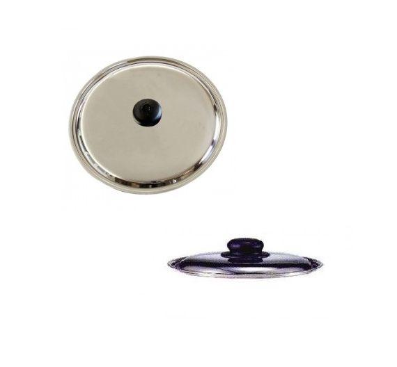 Ballarini Coperchio in acciaio d. 30 cm