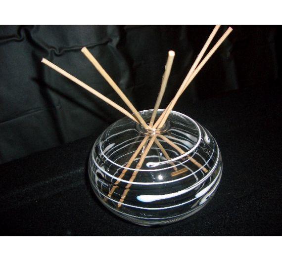 V.G.flattened sphere glass diffuser favor box