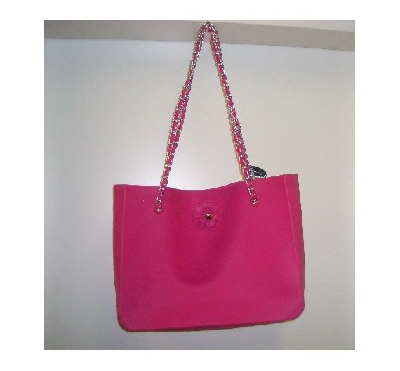 Baci Milano Shopping Bag Fuchsia