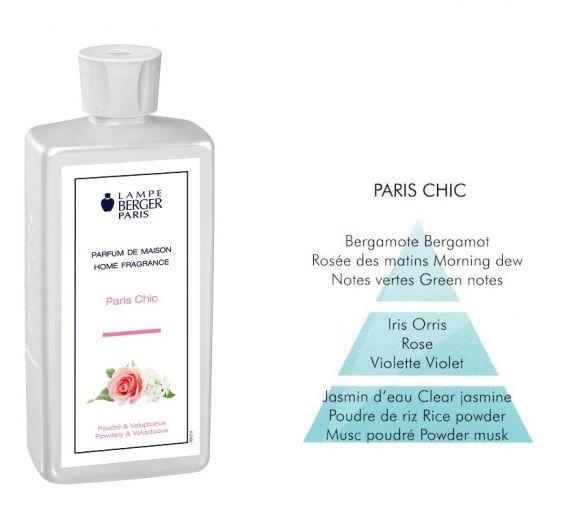 Lampe Berger rose perfume ml 500 PARIS CHIC