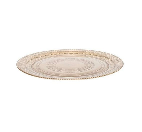 Bitossi piatto vassoio vetro POIS d. 31 cm