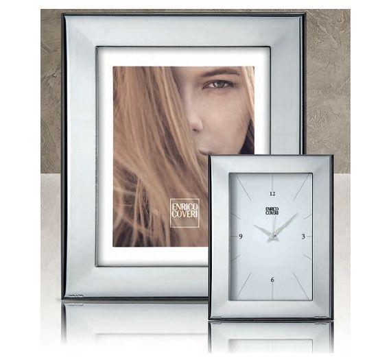 Portafoto argento Veil di Enrico Coveri