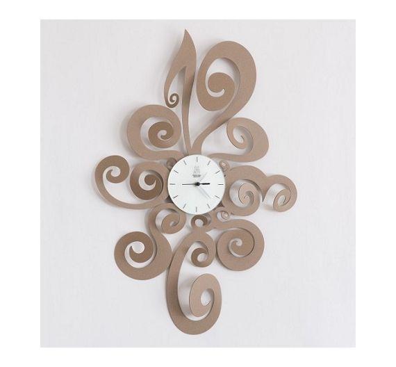 arti e mestieri orologio da parete noemi beige cose da