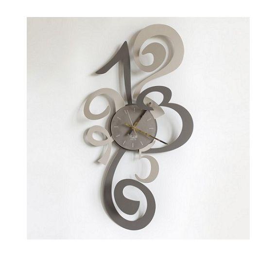 arti e mestieri orologio da parete blondie nero cose da
