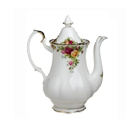 Royal Albert coffe jug old country roses