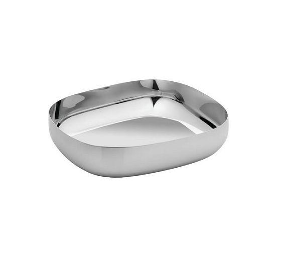 ALESSI oval basket REB06 acciaio