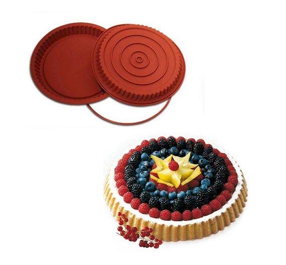 Silikomart stampo silicone torta tedesca SFT 528