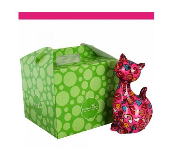 Pomme Pidou cat piggy bank Big Caramel XL