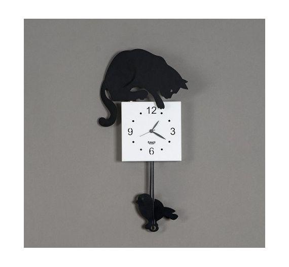 Arti e Mestieri orologio a pendolo Hunter kat nero