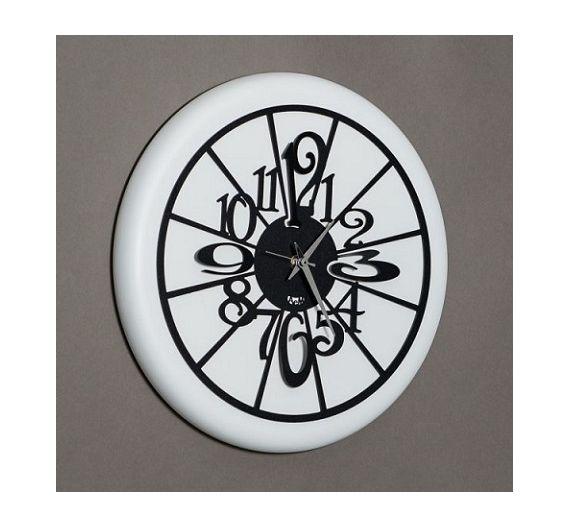 Arti e Mestieri orologio da parete Nudo piccolo nero