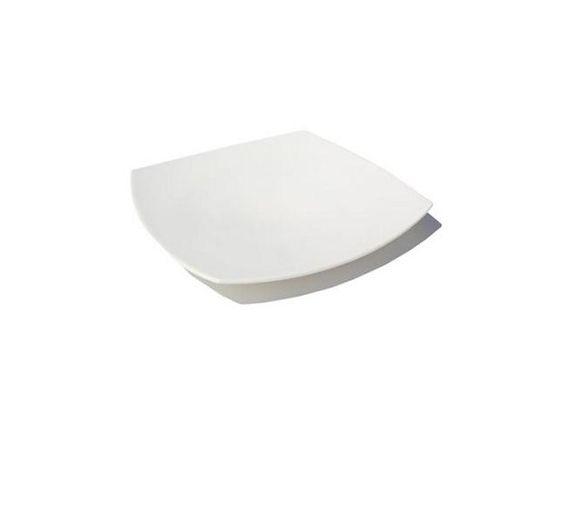Bitossi piatto dessert Elisa bianco