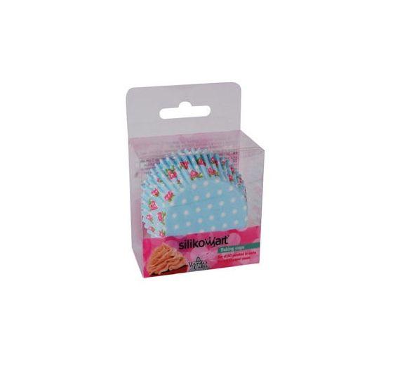 Silikomart pirottini carta fiori rosa