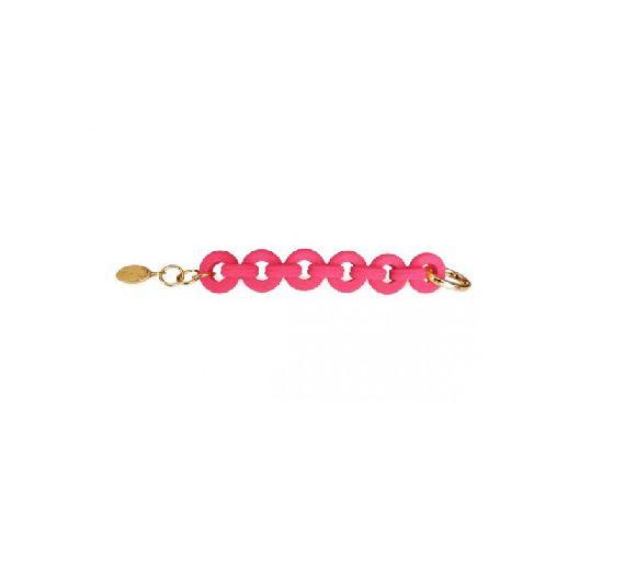 Baci Milano Fuchsia Glamour Bracelet