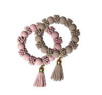 Baci Milano Taupe bracelet Be Fashion