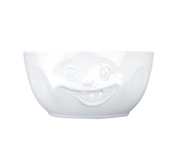 Tazza bianca Bowl da 500 ml Tassen Grinning