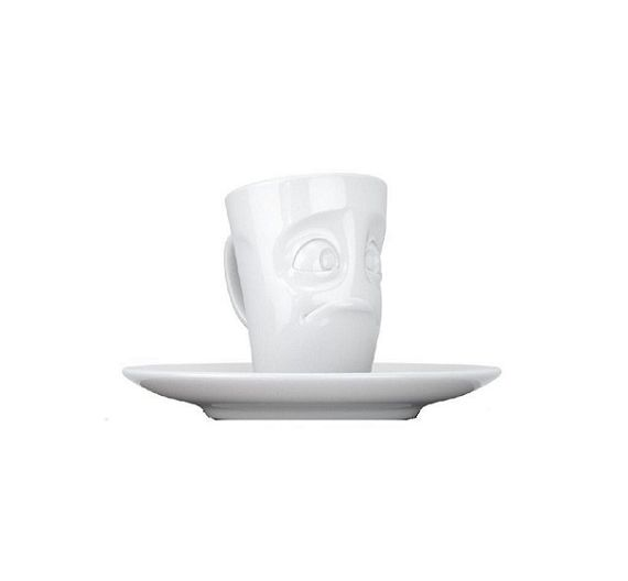 Tazza caffè con piattino 100 ml Tassen Happy