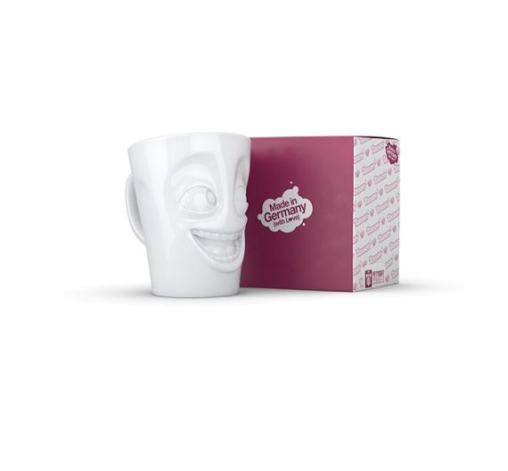 Mug con manico 350 ml Tassen Baffled