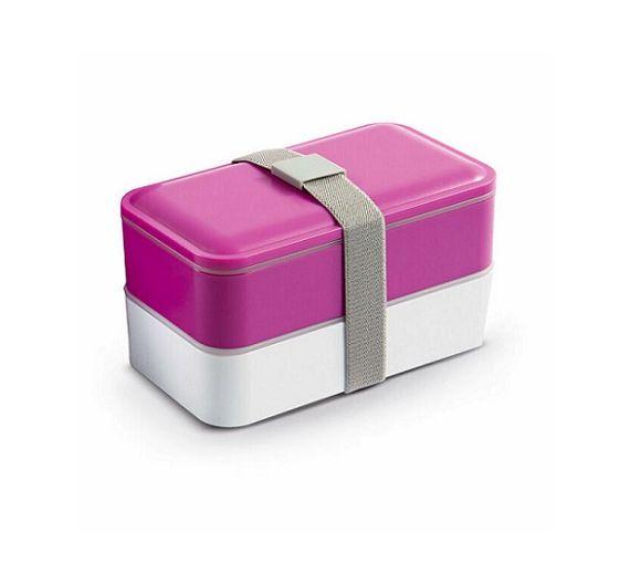 WD lunch box plastica con posate