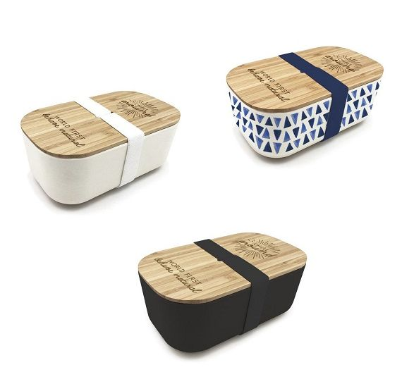 WD lunch box IN FIBRA DI BAMBOO