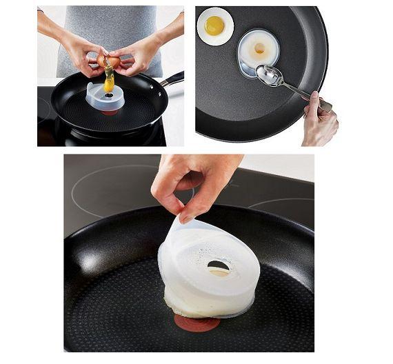 JOSEPH Joseph set uovo in camicia silicone