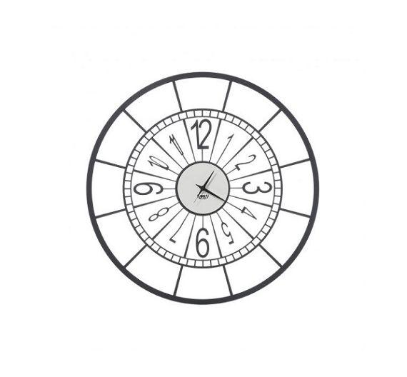 Arti e Mestieri orologio da parete Big Perseo nero