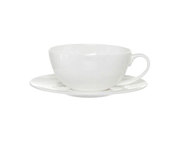 Bitossi set 6 tazze caffè Anna bordo platino
