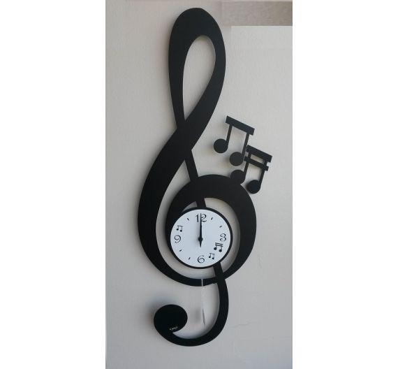 Arti e Mestieri orologio da parete Truciolo nocciola