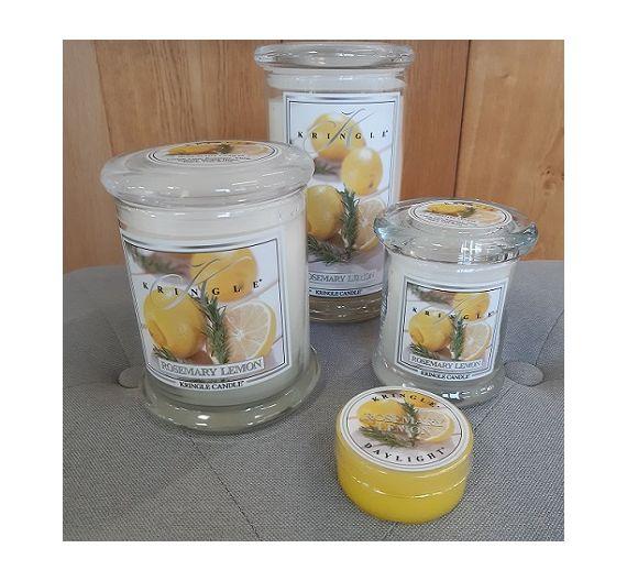 Kringle candela profumata Limone e Rosmarino