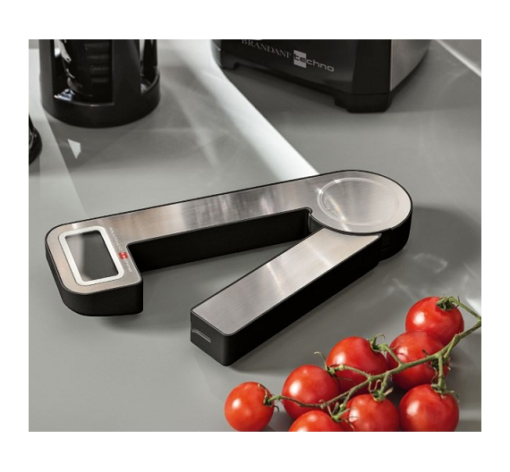 Brandani self-recharging digital kitchen scale