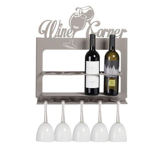 Brandani wine corner portabottiglie