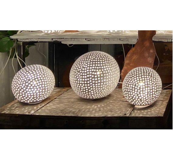 Vaso Cuore bianco ceramiche Bassano