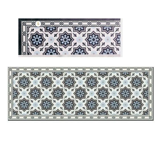 Brandani pvc hexagon carpet