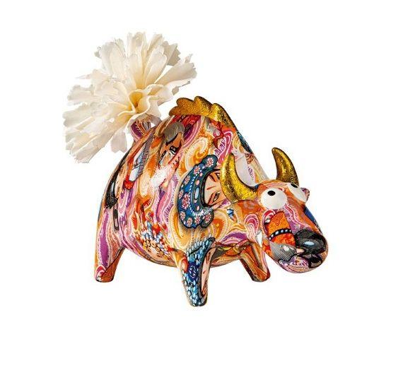 Brandani Toro diffusore profumo in porcellana